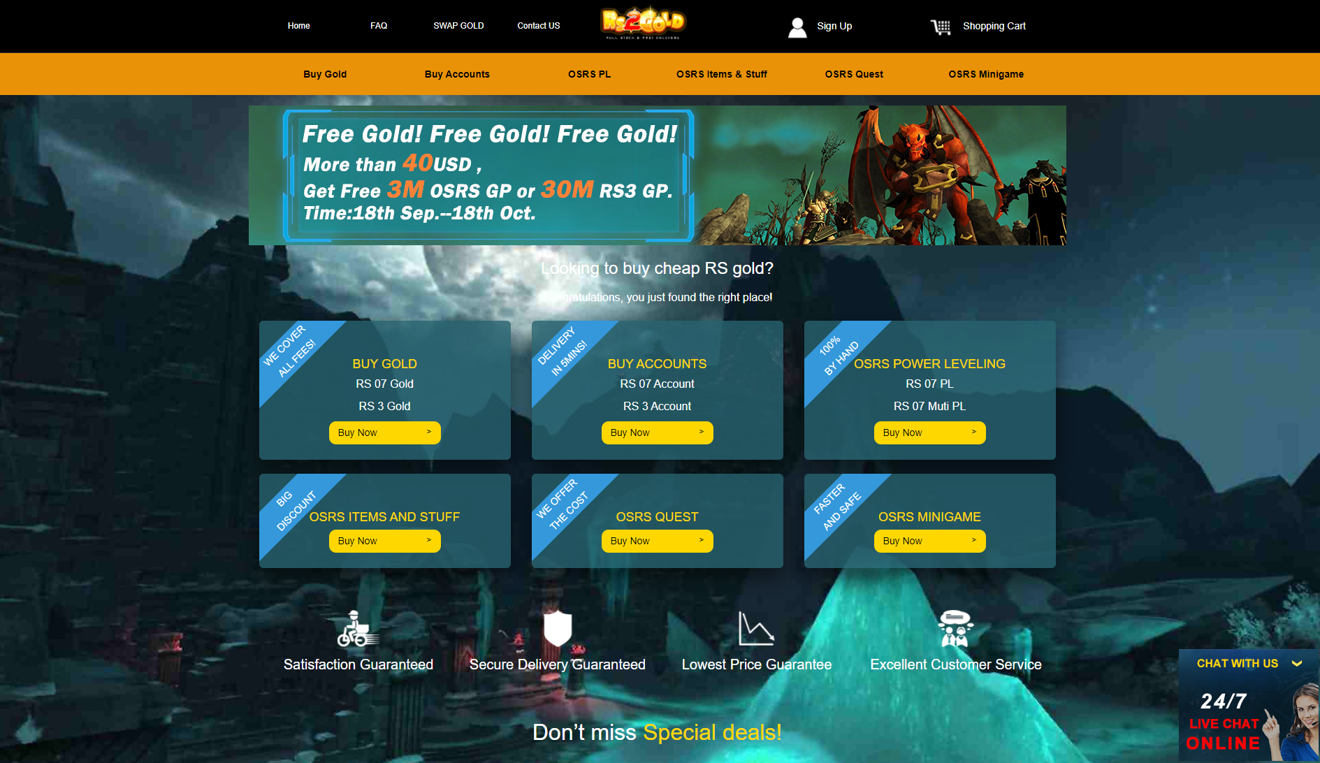 rs2gold website